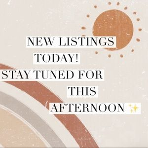 50+ items will be added today!